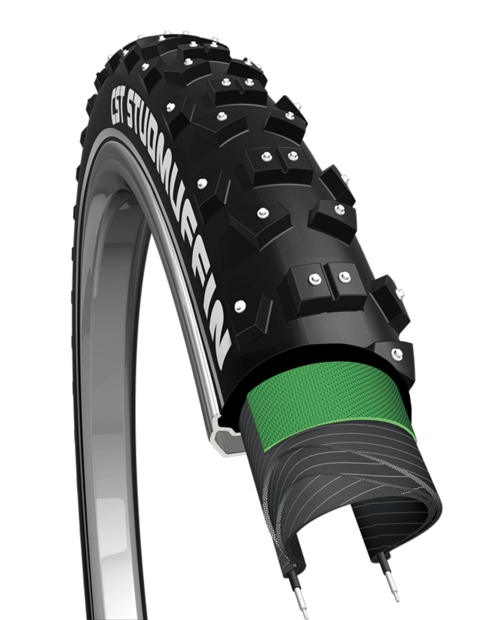 CST 700x35 Stud Muffin CST Tire Studded