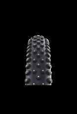 SCHWALBE 29x2.25 Ice Spiker Pro, Fold, Clincher, Winter, LiteSkin, 67TPI, Black