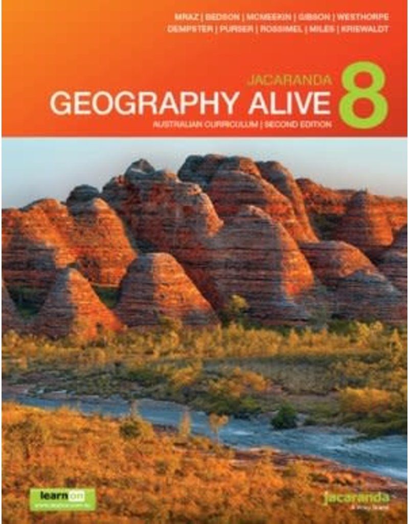 Geography Alive 8 AC Print & LearnOn 2E (Yr 8)