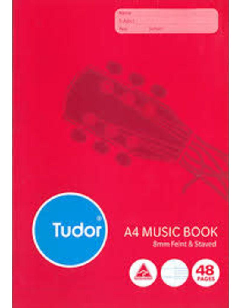 Music Manuscript Book- A4 - 48 page