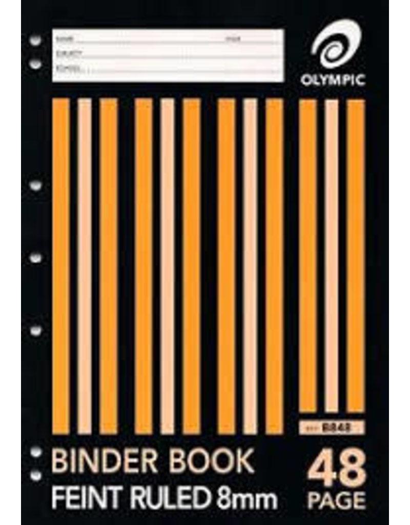 48pg A4 Binder Book