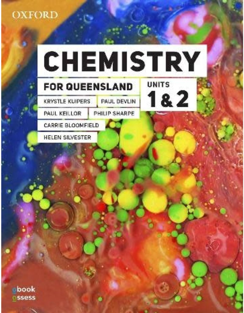 Chemistry for Queensland Units 1 & 2 Student Book (Yr 11)