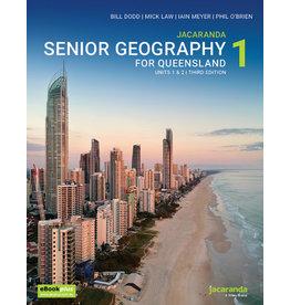 Jacaranda Senior Geography 1 for QLD Units 1&2  3rd Ed (Yr 11)