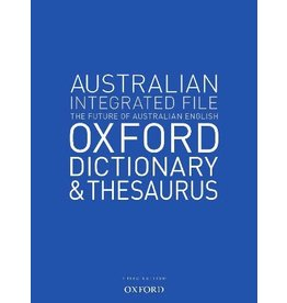 Dictionary - Australian Oxford Integrated Dictionary & Thesaurus (Yr 7)
