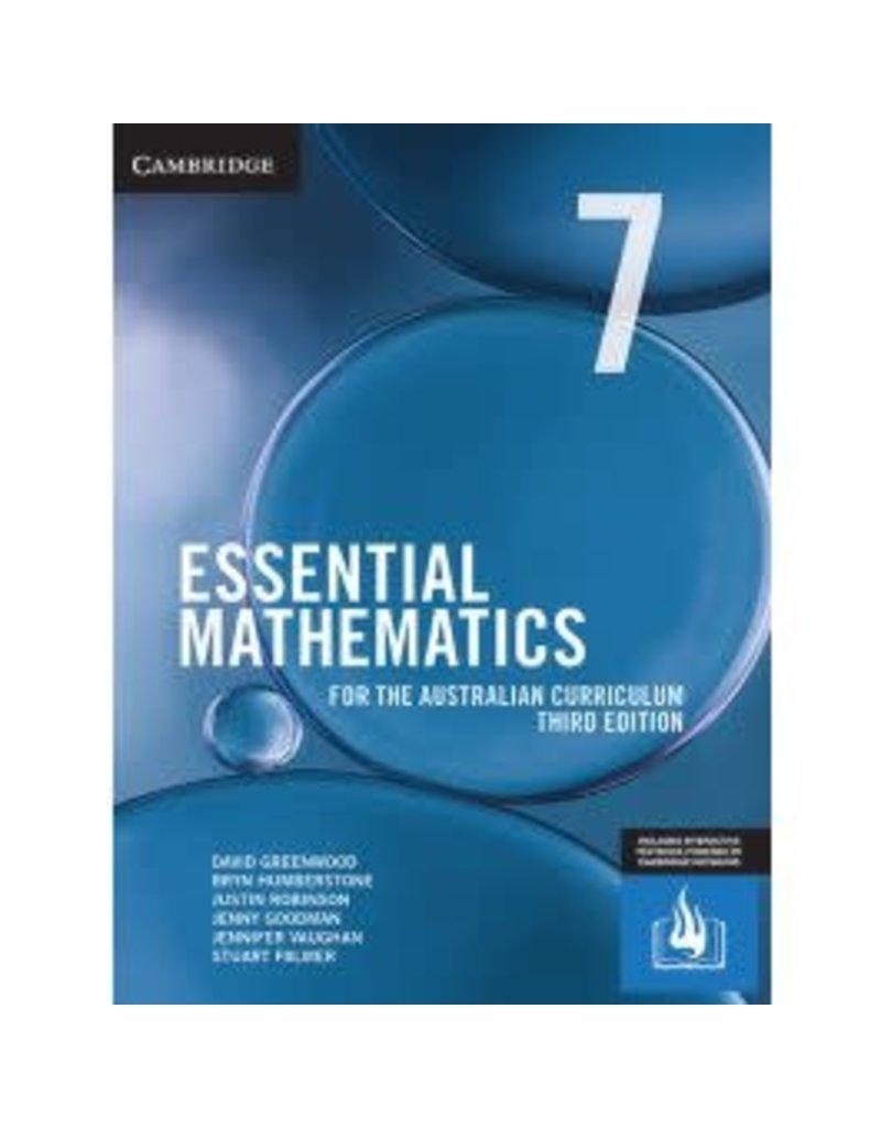 Cambridge AC Essential Mathematics for the Aust Curr Year 7 3rd ed (Yr7)