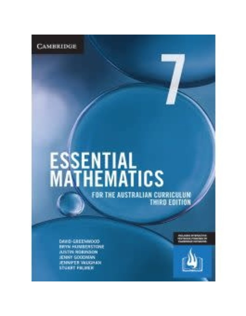 Maths Cambridge AC Essential Aust Curr Year 7 3rd ed (Yr7)