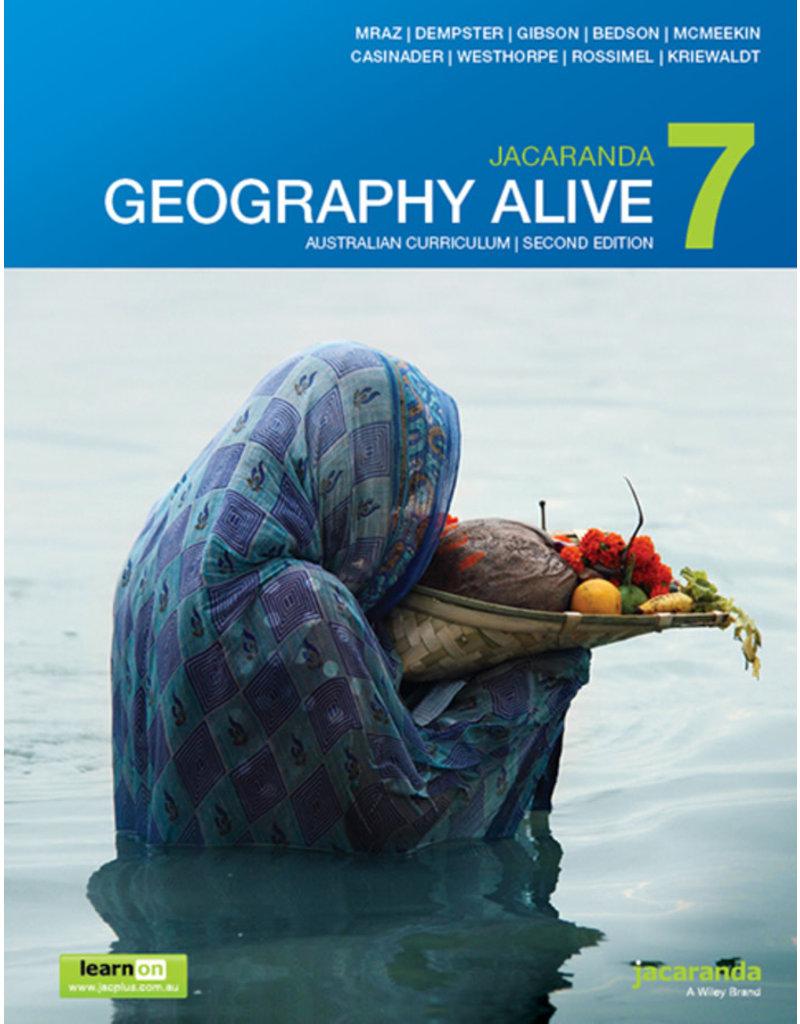 Geography Alive 7 AC Print & LearnOn 2E (Yr 7)