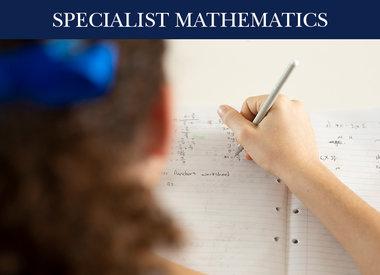 Specialist Maths