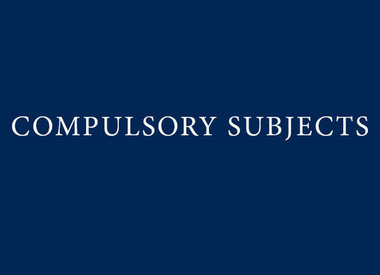 Year 9 Compulsory Subjects