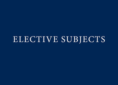 Year 11 Elective Subjects