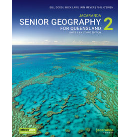 Jacaranda Senior Geography 2 for QLD  units 3 &4 (Yr 12)
