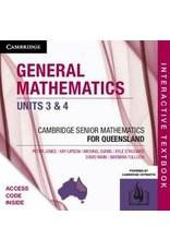 General Mathematics Units 3 &4 for Qld (Yr 12)