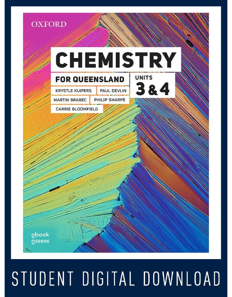Chemistry for Queensland Units 3&4 obook assess (Yr 12)