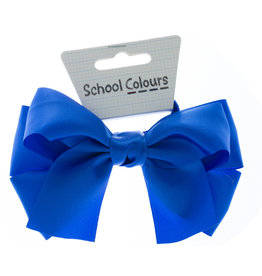 SATIN BOW ON ELASTIC