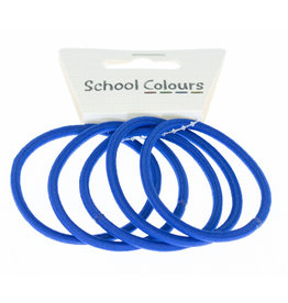 HAIR ELASTICS - THIN (PKT 5)