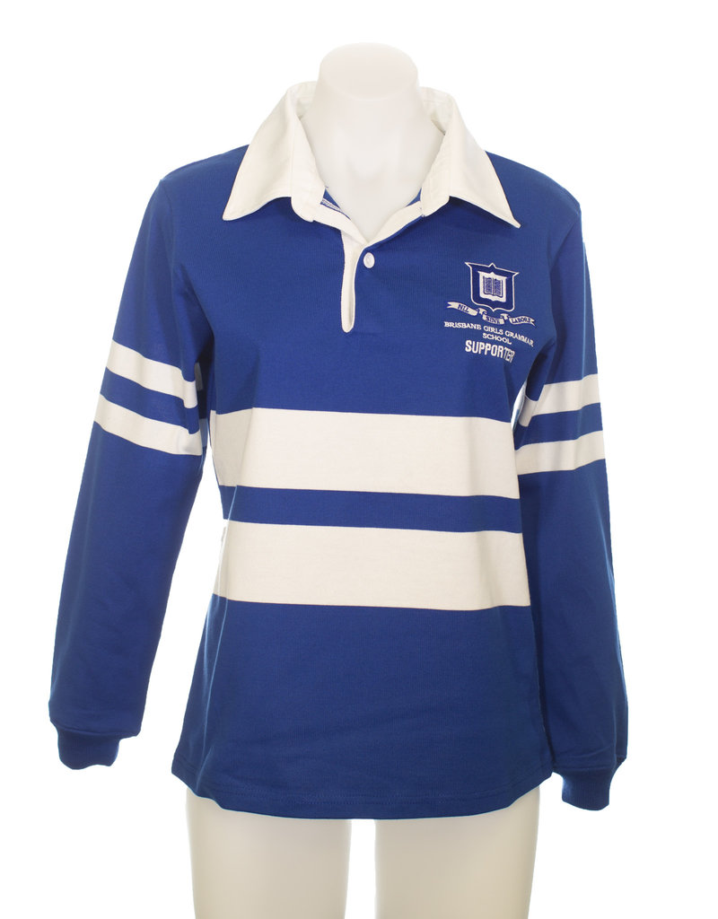 SUPPORTERS JERSEY LADIES CUT LONG SLEEVE