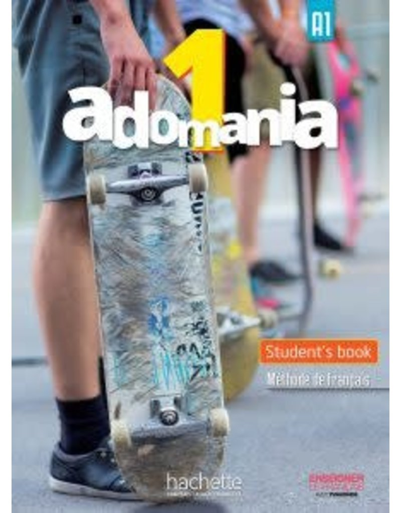 Adomania 1/A1 Student Pack English Version (Yr 8)