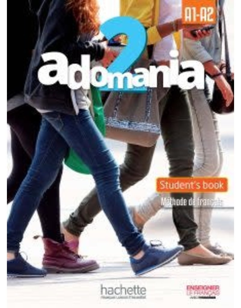 Adomania 2/A1-A2 Student Pack English Version (Yr 9)