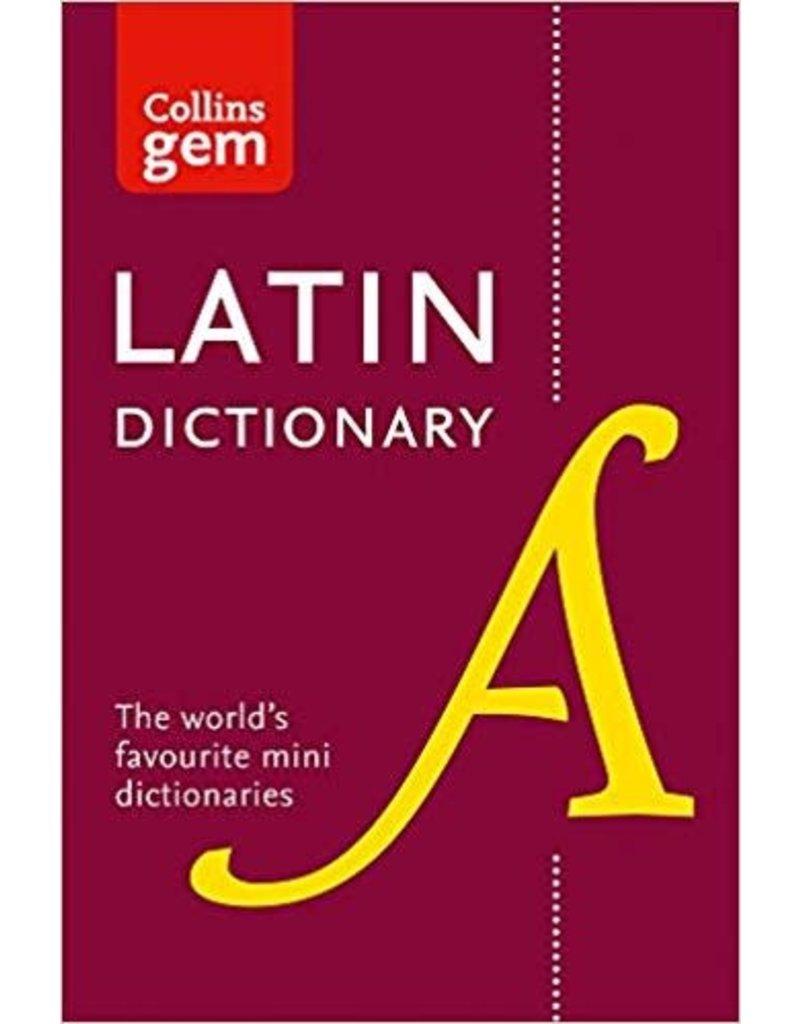 Collins Gem Latin Dictionary 3rd Ed (YR 10)