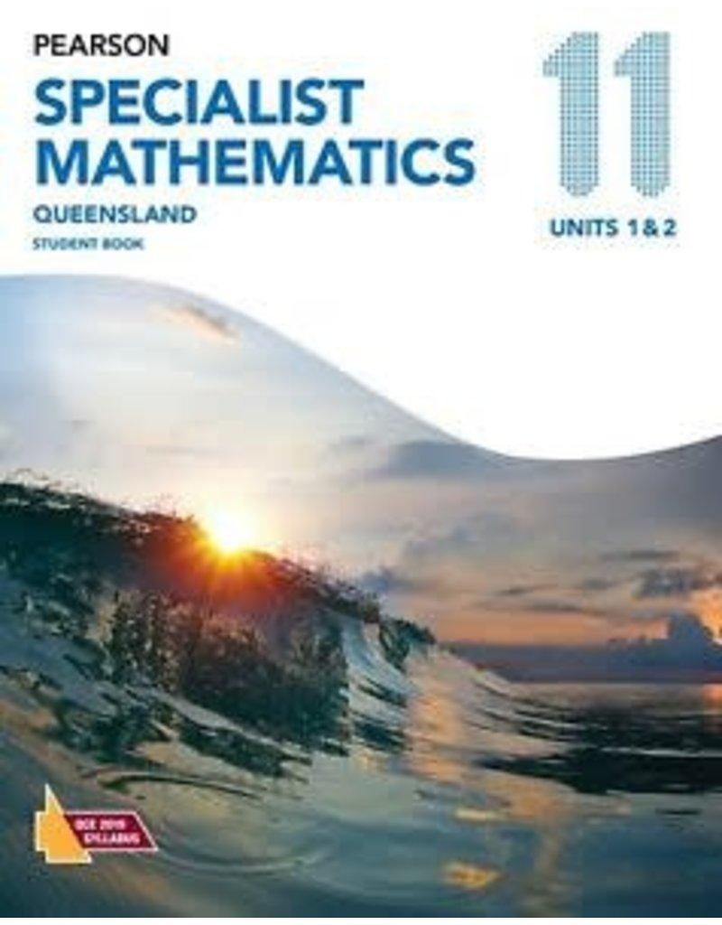 Pearson Specialist Mathematics QLD 11 Unit 1 &2 (Yr 11)