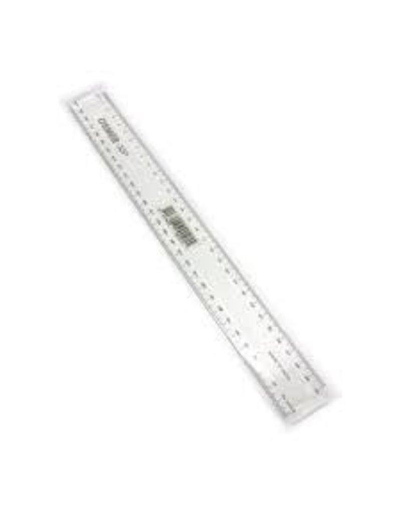 Ruler - clear plastic