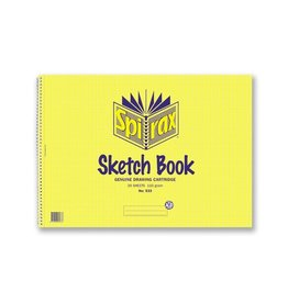 Sketch Book A3 Spirax 20 Leaf
