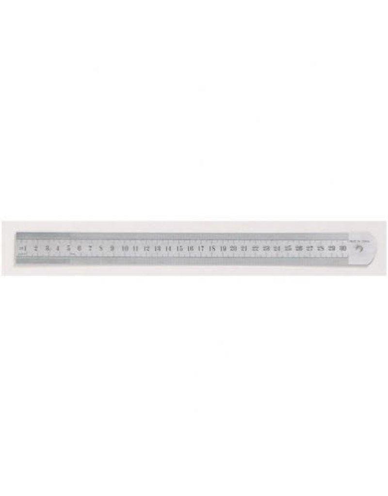 Ruler- Metal 15cm