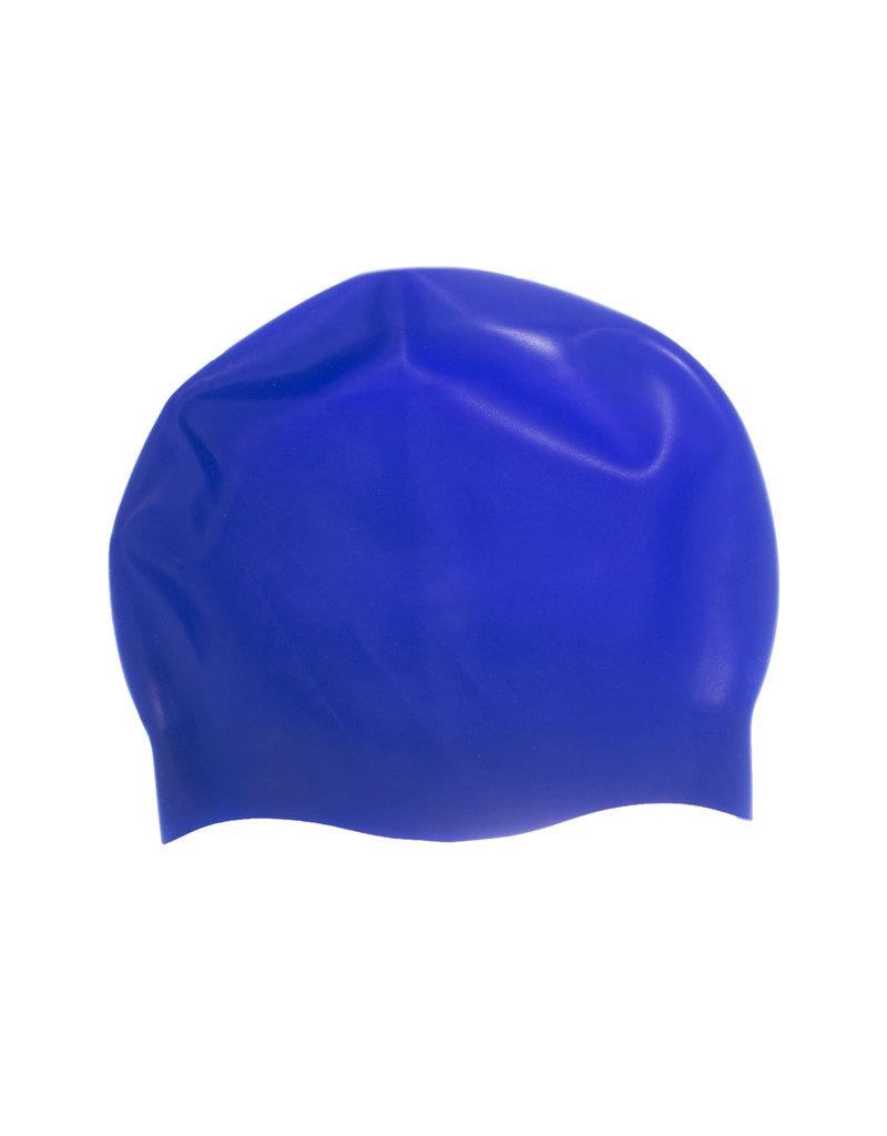 SWIMMING CAP - BLUE/WHITE REVERSIBLE