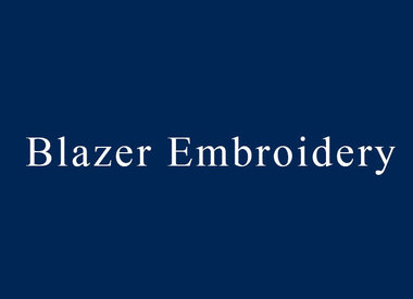 Blazer Embroidery