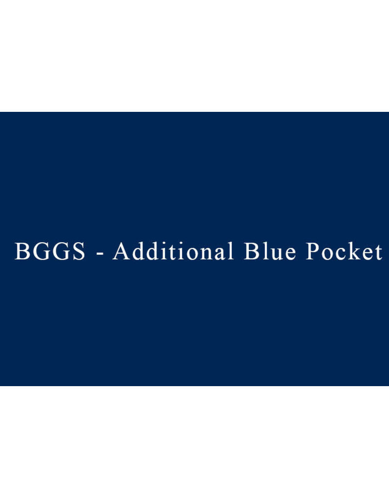 Blue BGGS Pocket -  Additional Lines