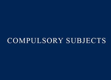 Year 7 Compulsory Subjects