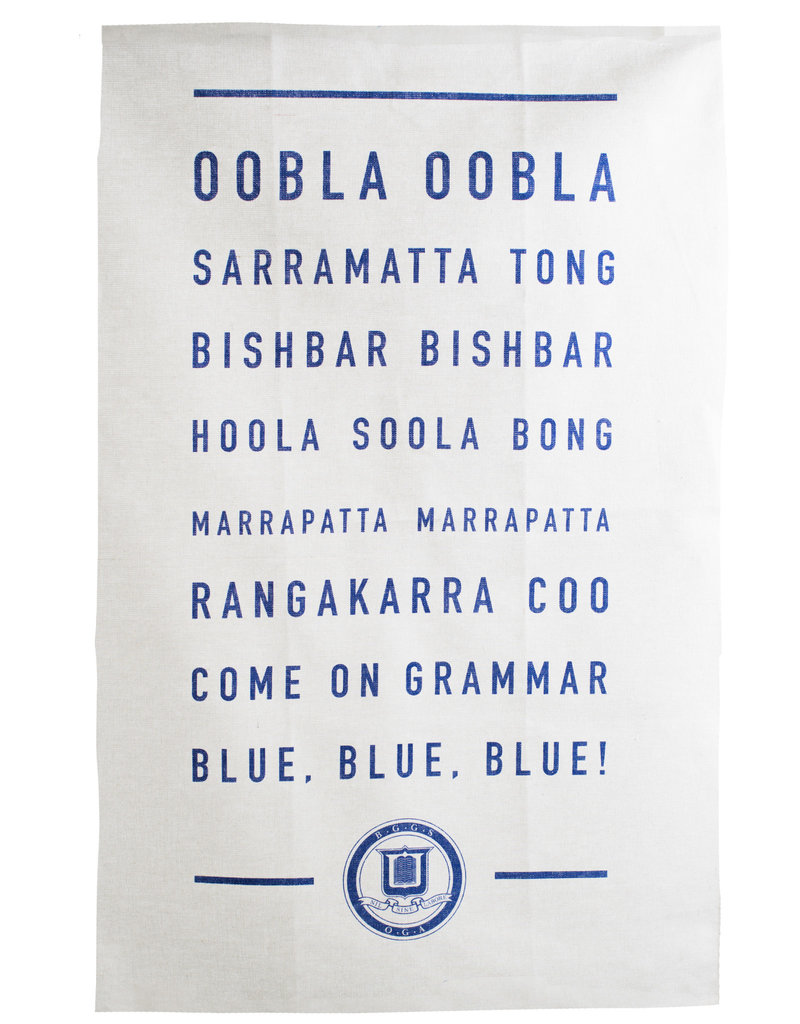 Promo OGA - Tea Towel - War Cry