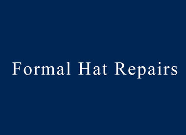 Formal Hat Repair