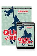 Quoi de Neuf  Senior Book with eBook (Yr 11)
