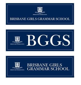 BGGS SET OF 3 CAR STICKERS