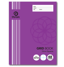 Grid Book 10mm  48 pg