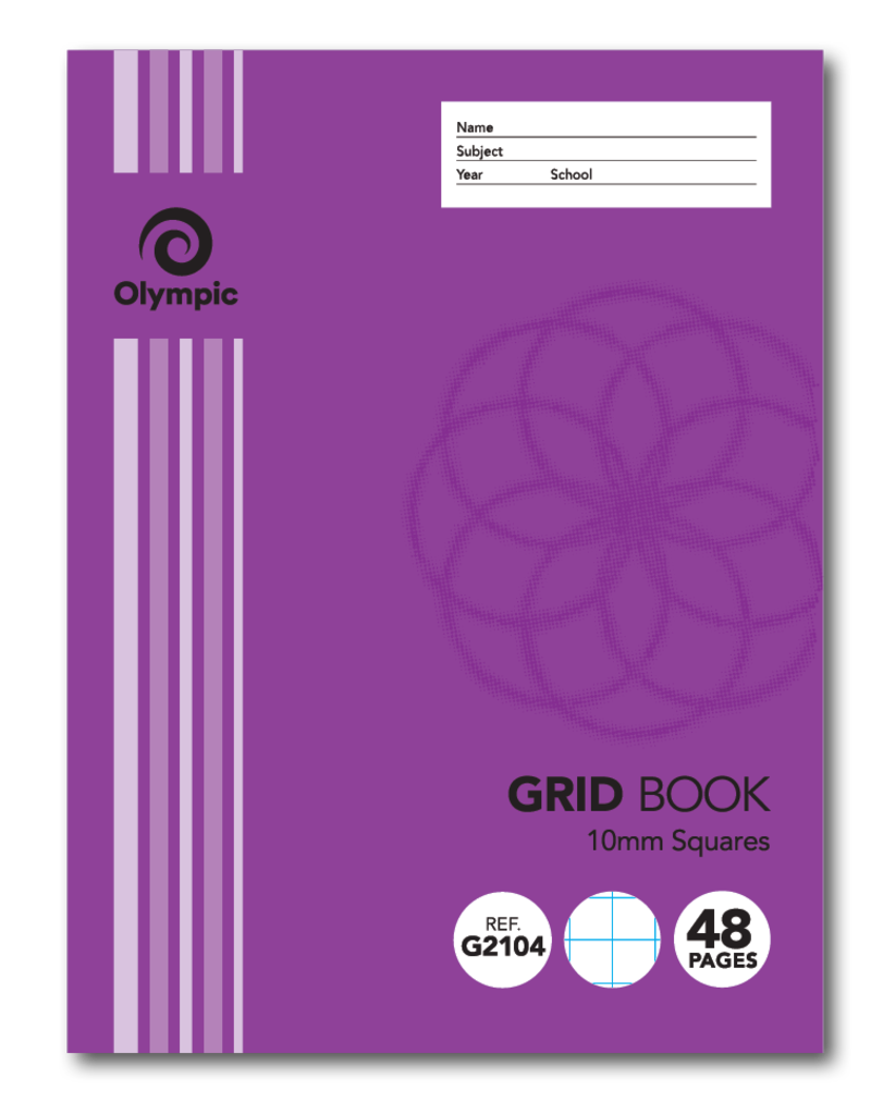 Grid Book 10mm  48 pg