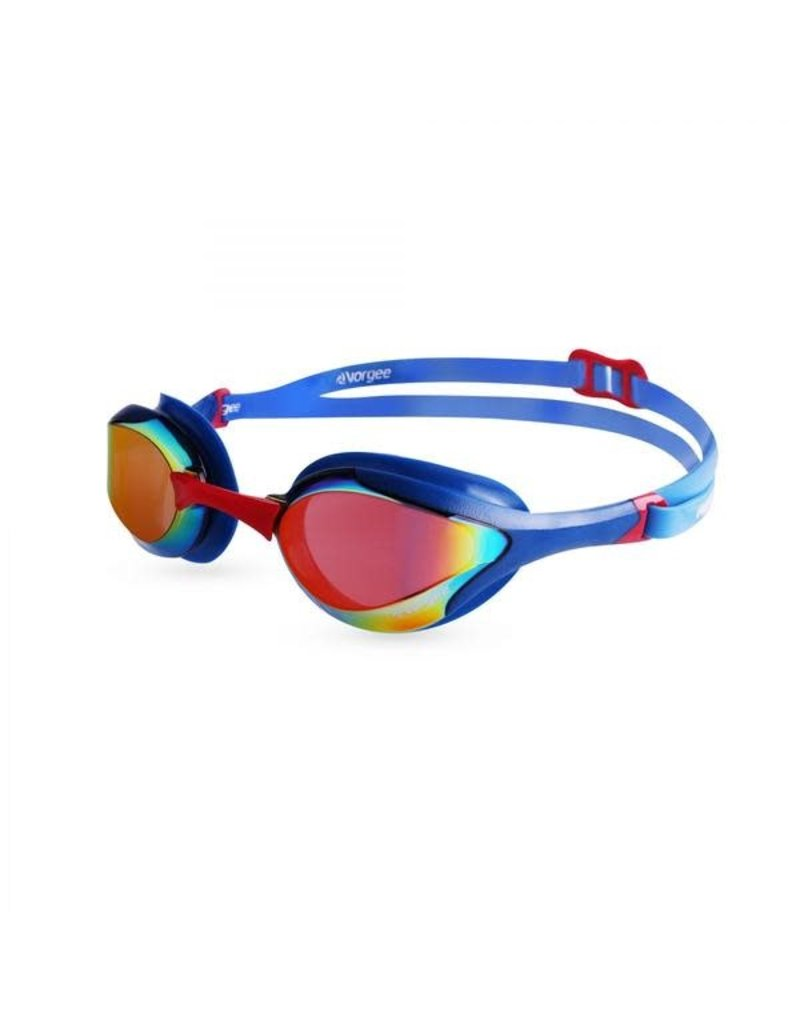 Goggles Vorgee Stealth MKII mirrored lens (Racing Goggle) - Royal Blue