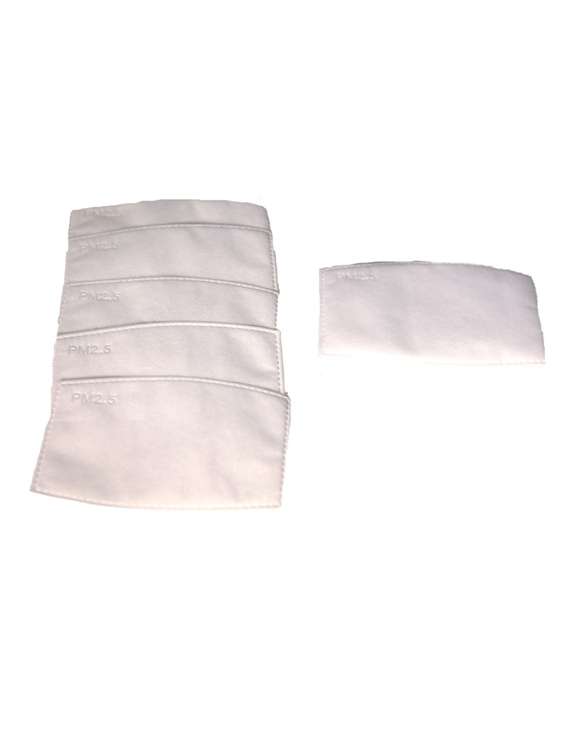 Face mask replacement filters (5 pkt)
