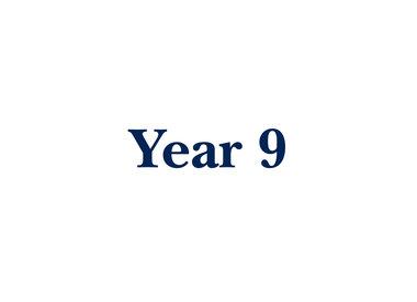 Year 9 Textbooks 2021