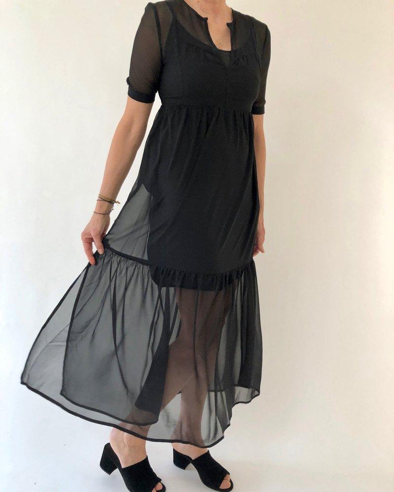 See U Soon Long Dress Black