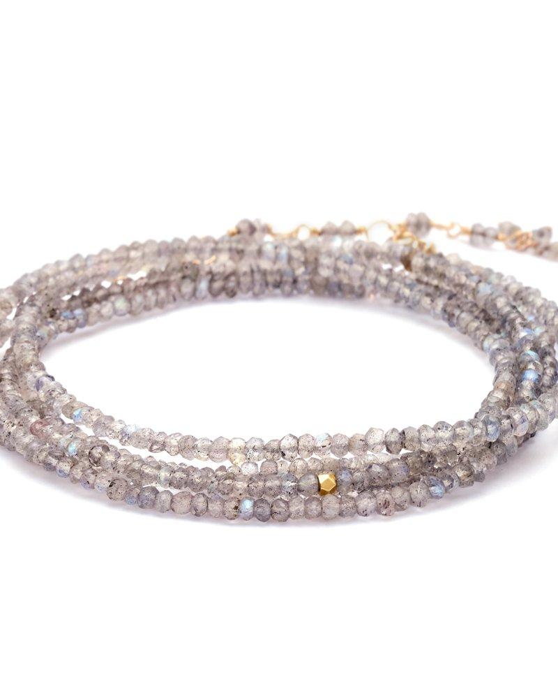 Anne Sportun Labradorite Wrap Bracelet