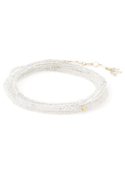 Anne Sportun Gemstone Wrap Bracelet Moon