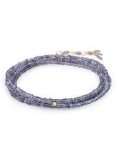 Anne Sportun Gemstone Wrap Bracelet Lolite