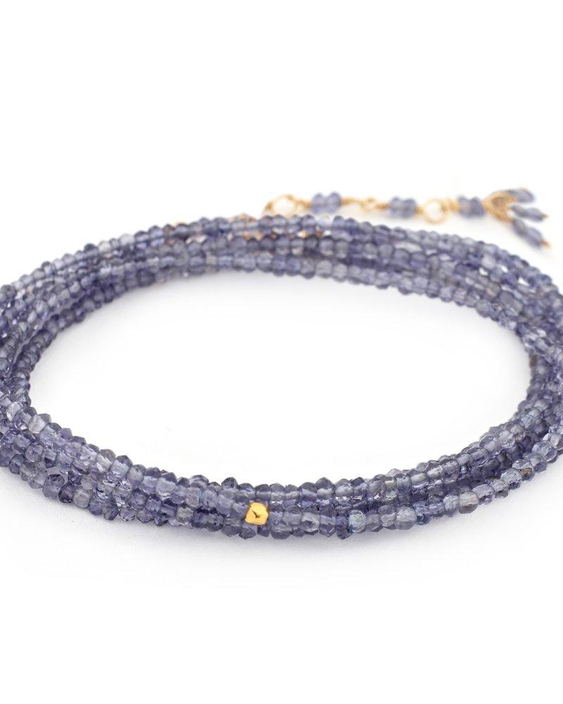 Anne Sportun Lolite Wrap Bracelet