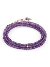 Anne Sportun Gemstone Wrap Bracelet Amethyst