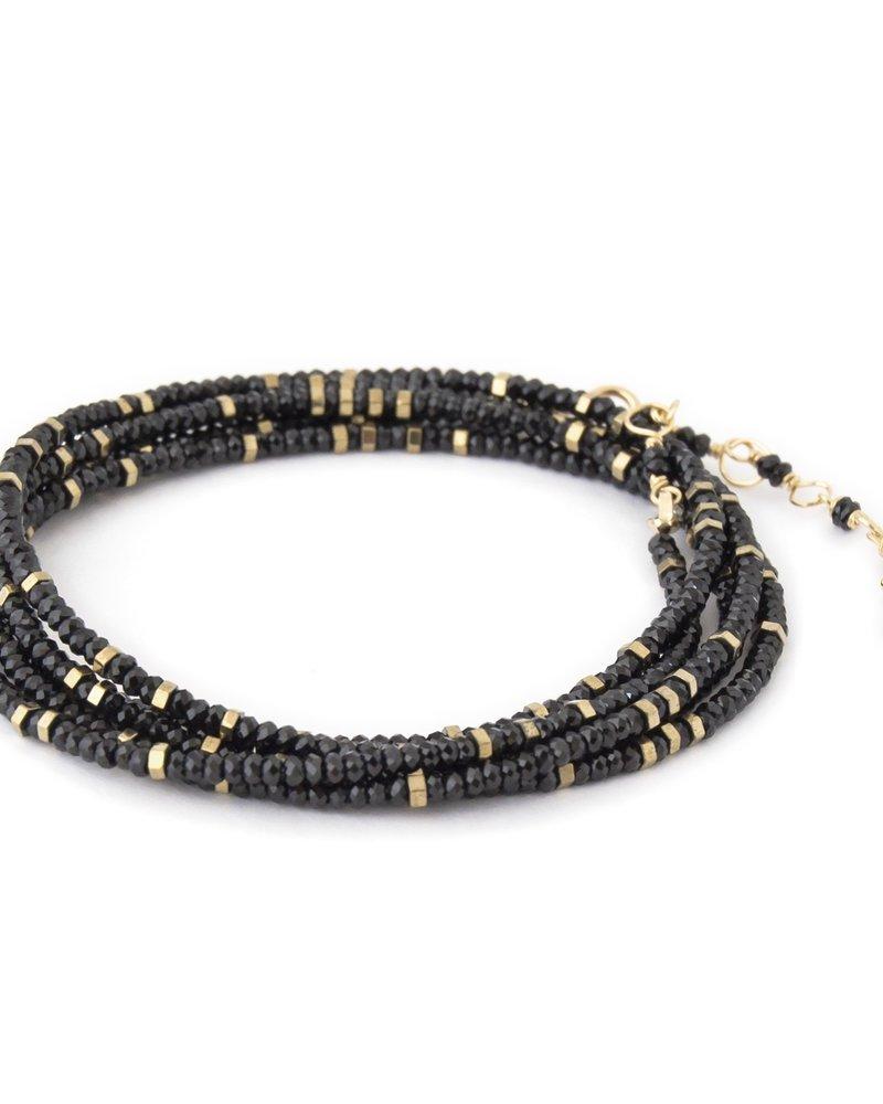 Anne Sportun Spinel Wrap Bracelet