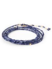 Anne Sportun Gemstone Wrap Bracelet Sodalite