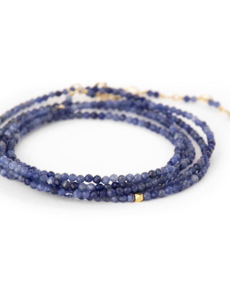 Anne Sportun Sodalite Wrap Bracelet