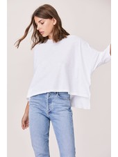 LNA Cape Tee White